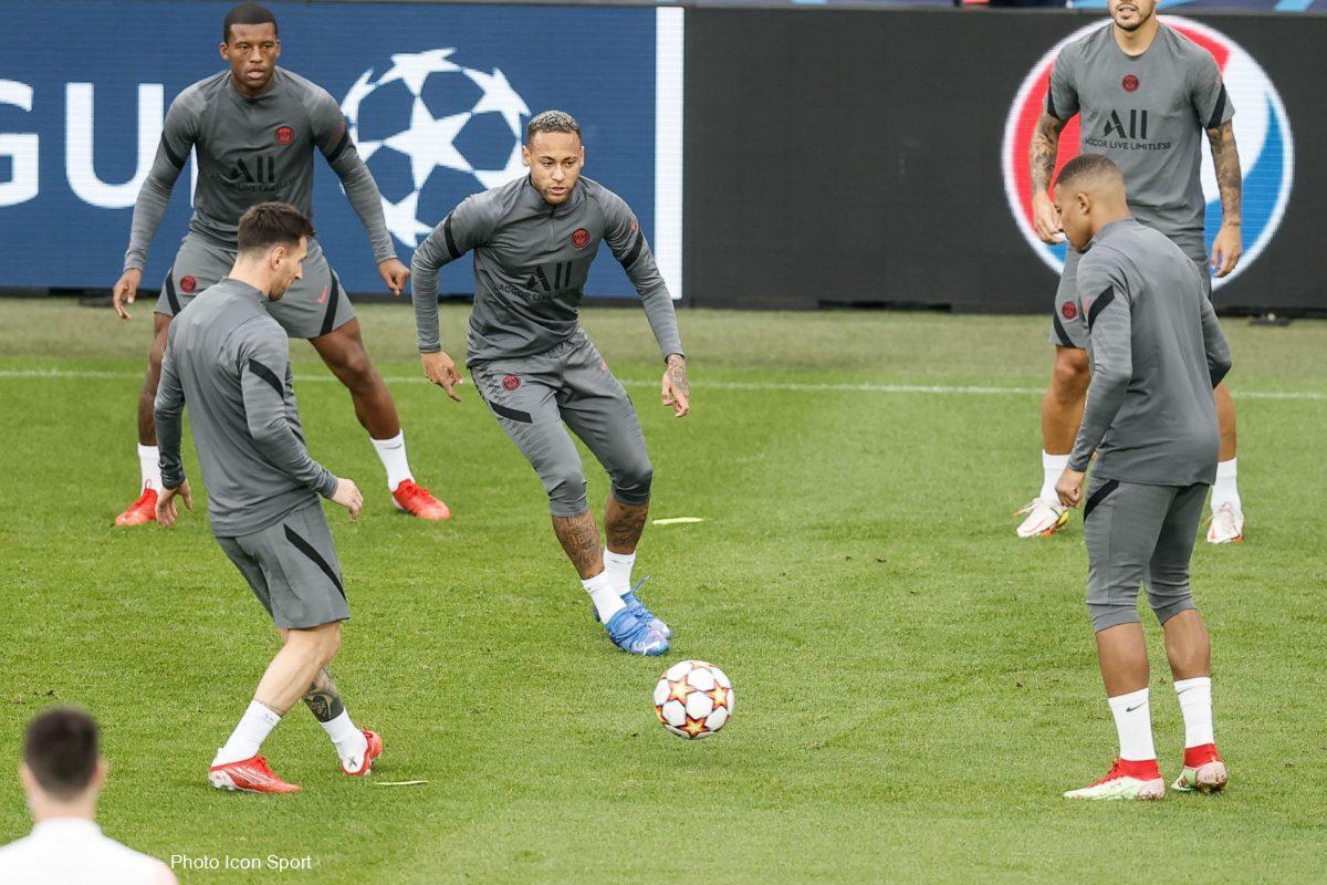 Messi, Neymar, Mbappé, PSG