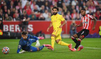 Mohamed Salah, Brentford-Liverpool