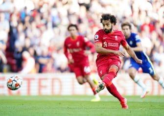 Mohamed Salah, match Liverpool - Leeds