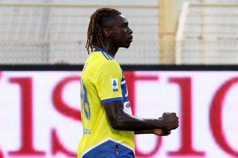 Moise Kean, Spezia-Juventus