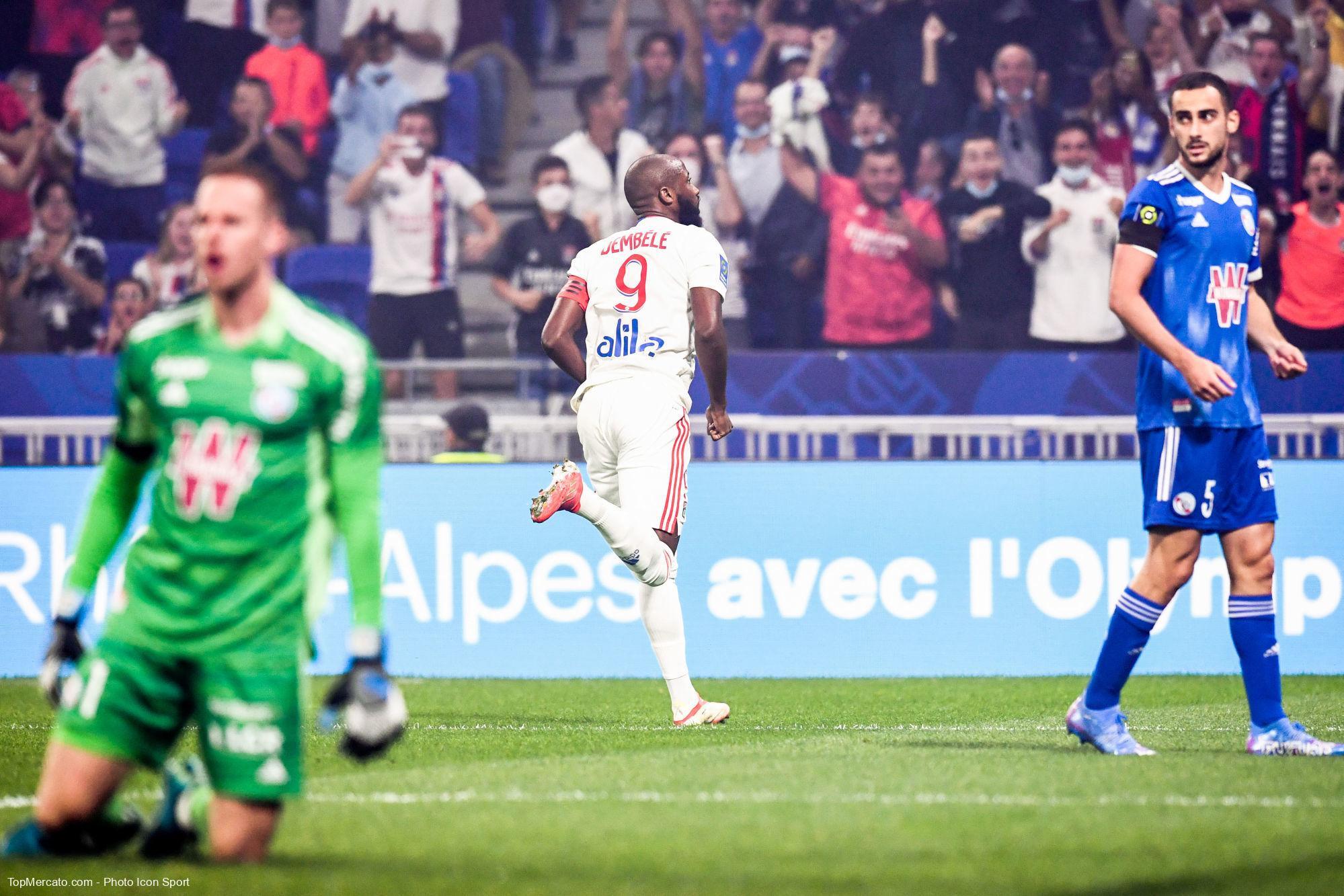 Moussa Dembélé, OL-RCSA
