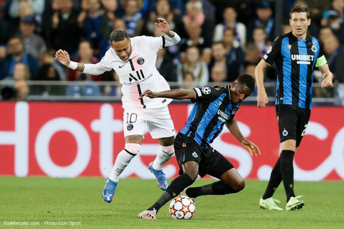 Neymar, Bruges-PSG