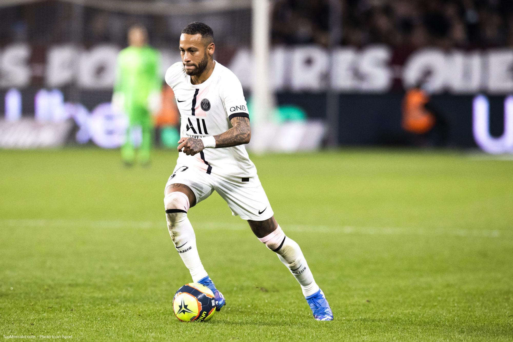 Neymar, Metz-Paris Saint-Germain