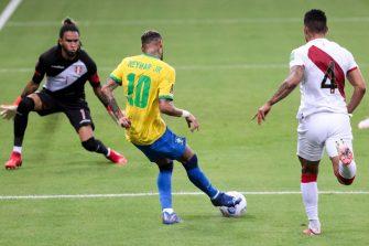 Neymar, match Brésil - Pérou