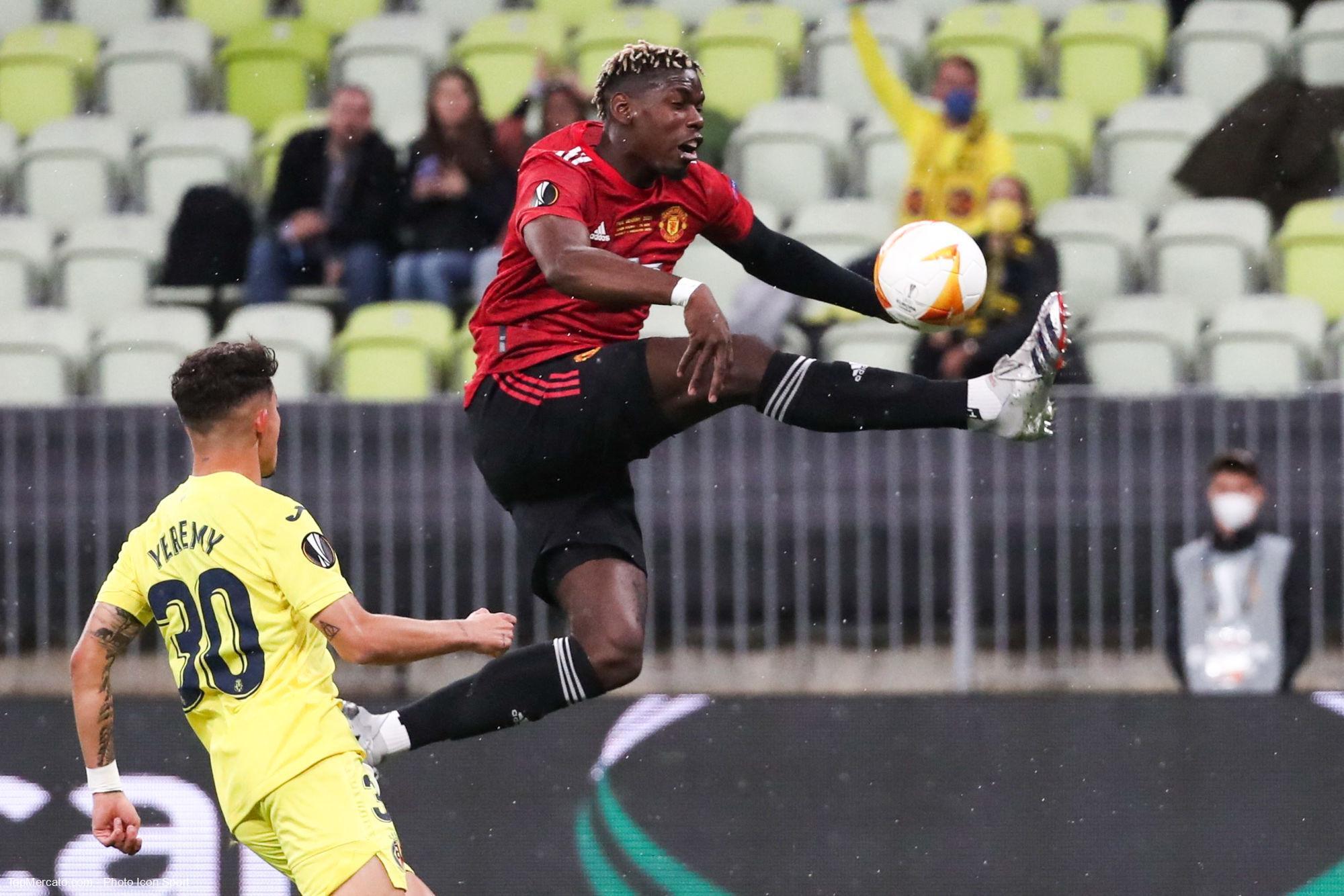 Paul Pogba, match Manchester United - Villarreal