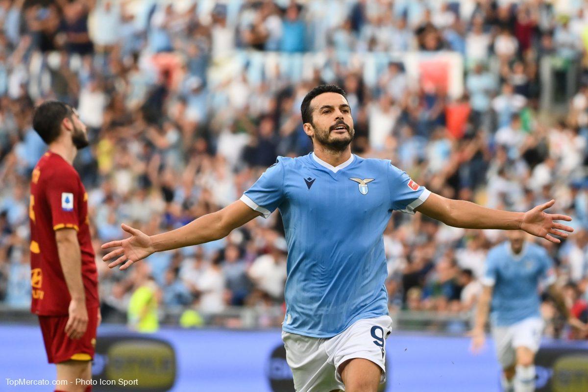 Pedro, Lazio Rome AS Roma