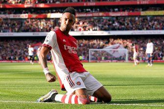 Pierre-Emerick Aubameyang, Arsenal Tottenham