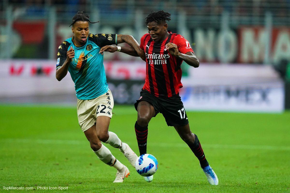 Rafael Leao, Milan AC-Venezia