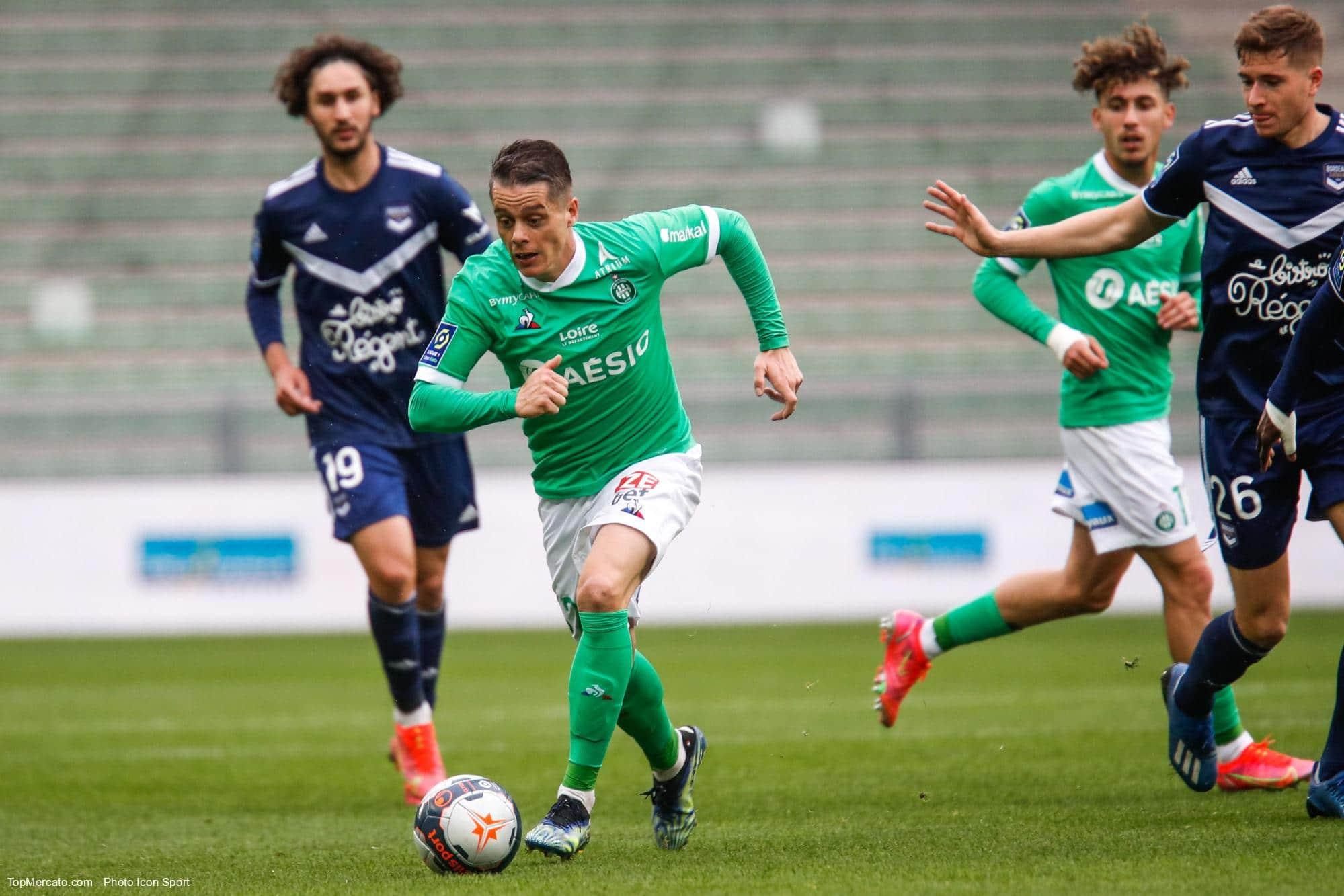 Romain Hamouma, match ASSE Saint-Etienne - Bordeaux FCGB