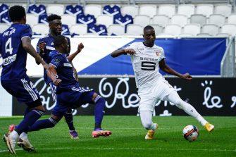 Sehrou Guirassy, match Bordeaux - Rennes Stade Rennais