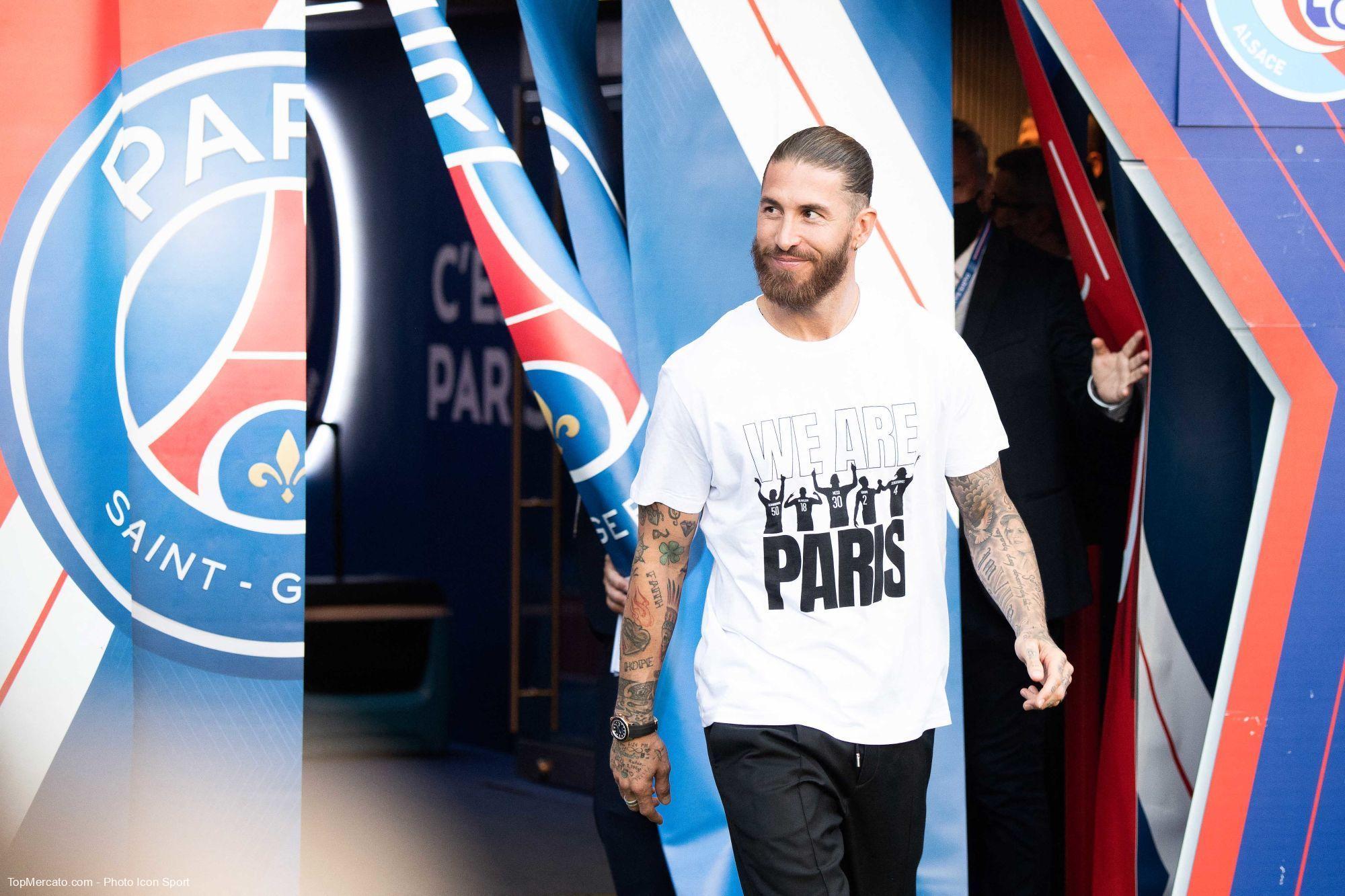 Sergio Ramos, PSG, Paris Saint-Germain