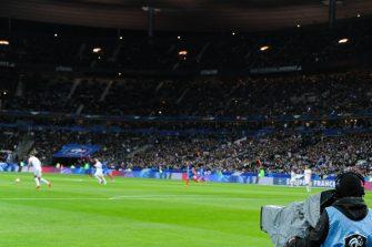 Stade de France, Télévision