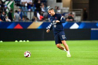 Théo Hernandez, équipe de France, Bleus