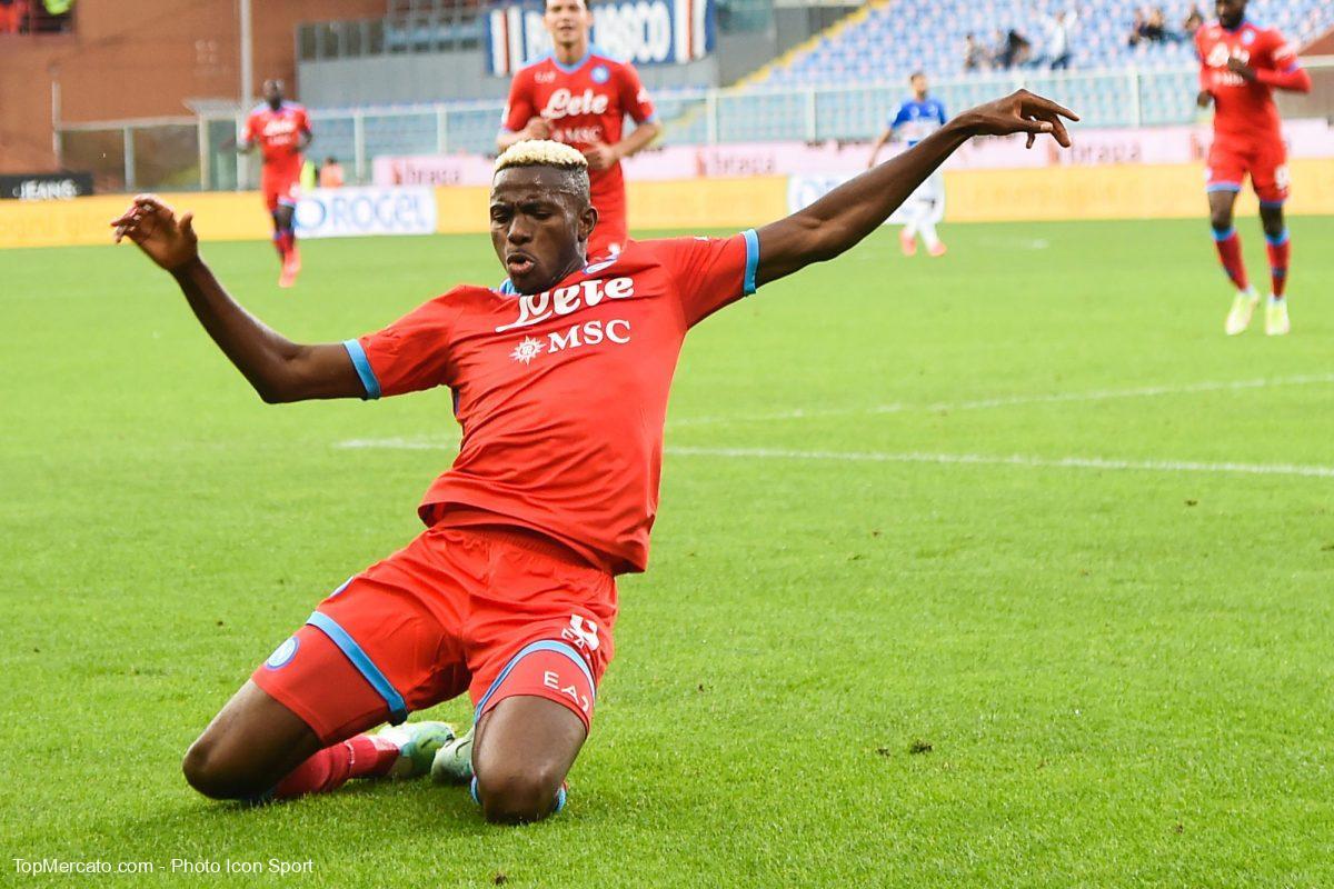 Victor Osimhen, Sampdoria-Naples