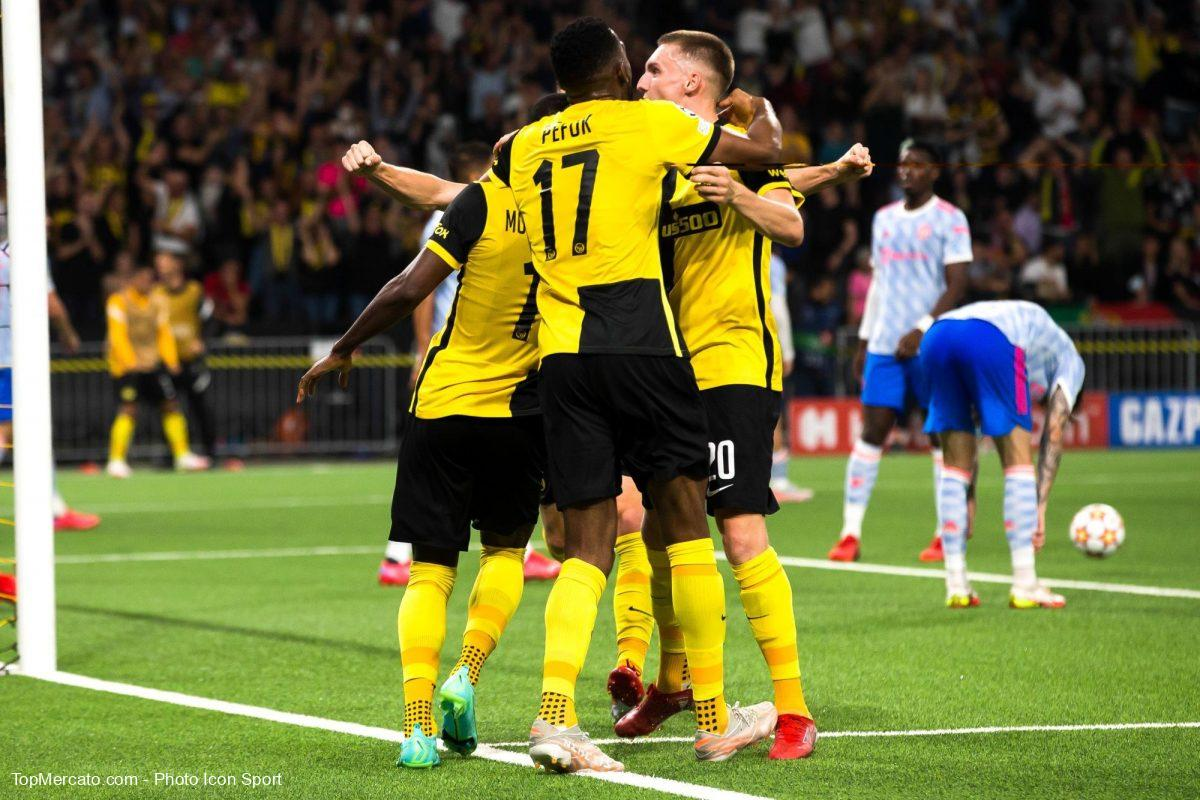 Young Boys Berne-Manchester United
