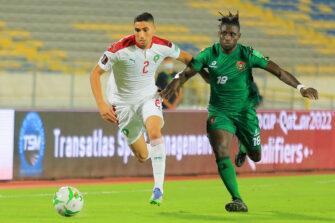 Achraf Hakimi, match Maroc - Guinée-Bissau