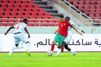 Achraf Hakimi, match Maroc - Soudan