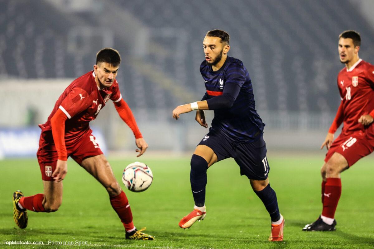 Amine Gouiri, match Serbie-France