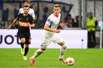 Arkadiusz Milik, match OM Marseille - Galatasaray