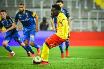 Arnaud Kalimuendo, match Racing Club de Lens-Stade de Reims