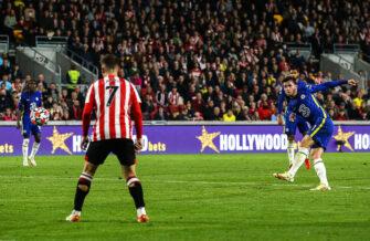 Ben Chilwell, match Brentford-Chelsea
