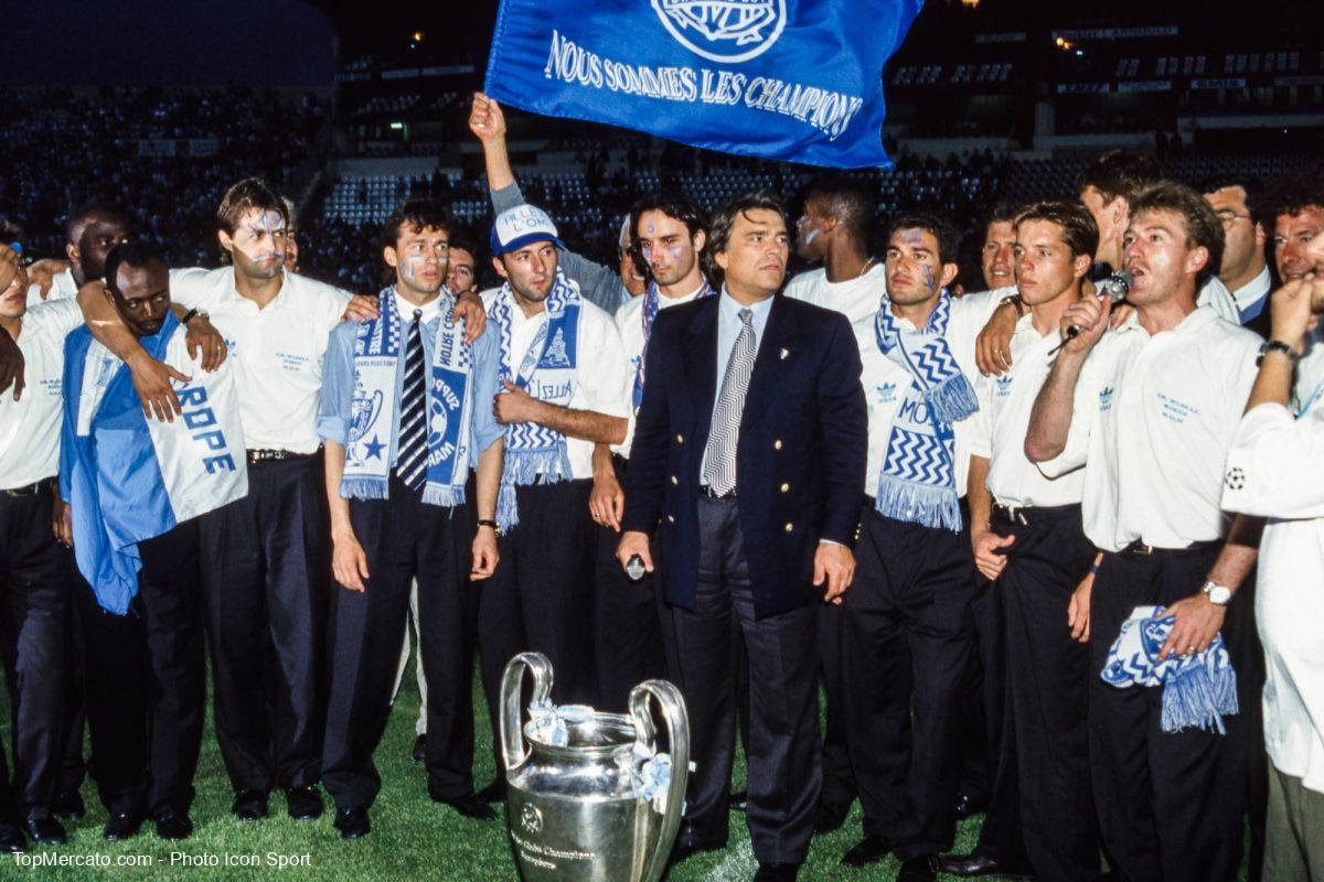 Bernard Tapie, Didier Deschamps, OM Olympique de Marseille 1993