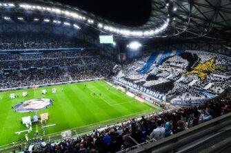 Bernard Tapie hommage Vélodrome, match OM Olympique de Marseille-FCL Lorient