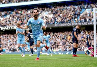 Bernardo Silva, match Man City Manchester City-Burnley