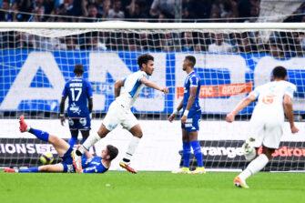Boubacar Kamara, match OM Olympique de Marseille FCL Lorient