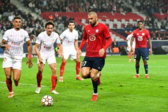 Burak Yilmaz, match Lille LOSC-FC Séville