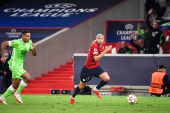Burak Yilmaz, match Lille LOSC - Wolfsbourg