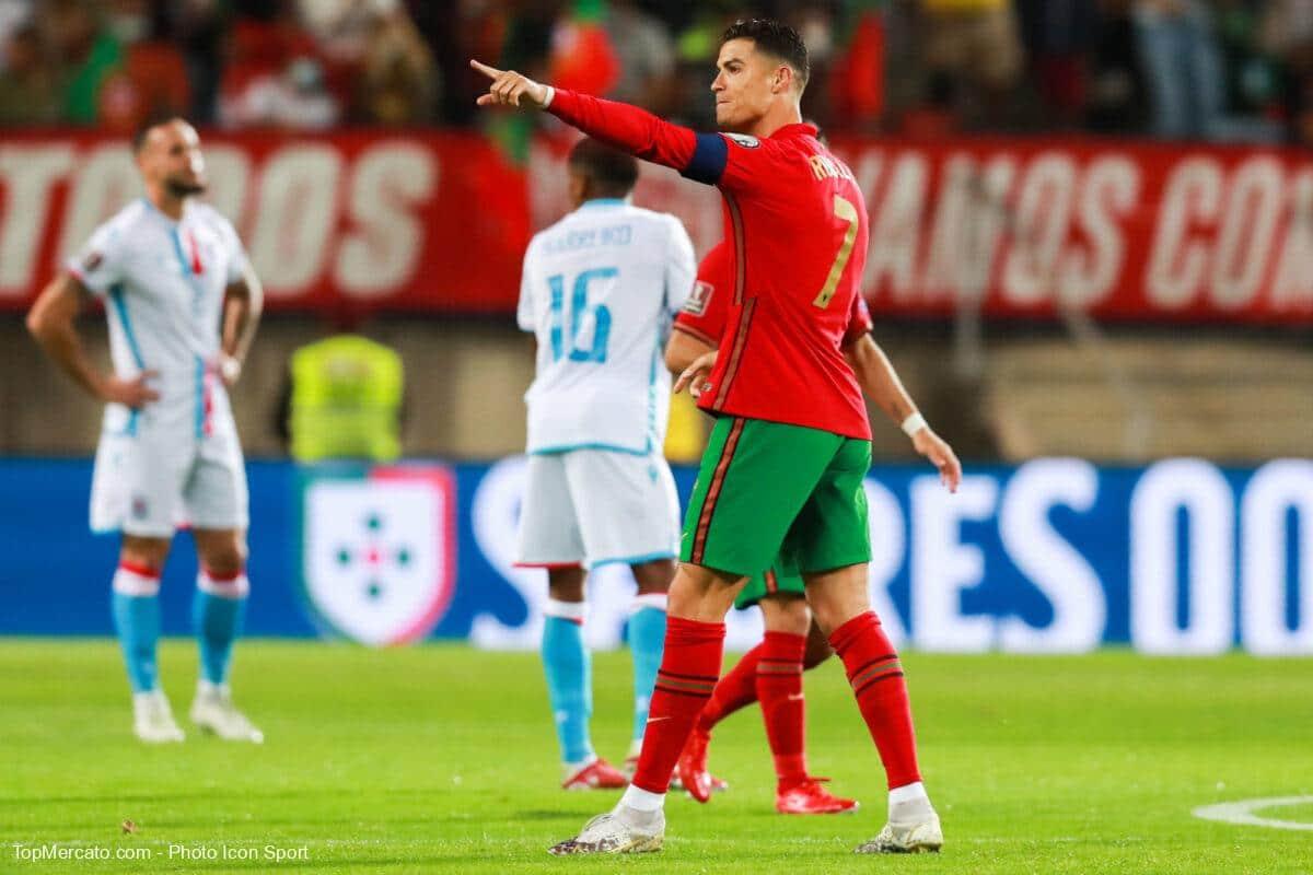 Cristiano Ronaldo, match Portugal-Luxembourg