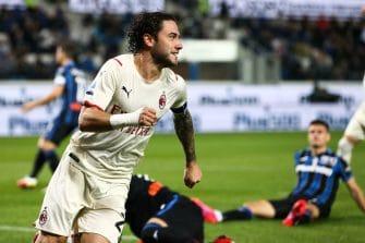 Davide Calabria, match Atalanta Bergame-Milan AC