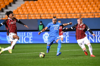 Dimitri Payet, match OGCN Nice-OM Olympique de Marseille