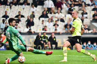 Erling Haaland, match Besiktas - Borussia Dortmund