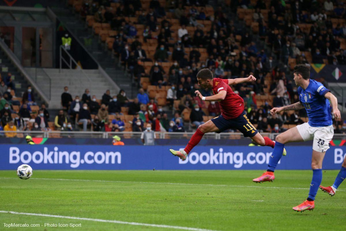 Ferran Torres, match Italie-Espagne