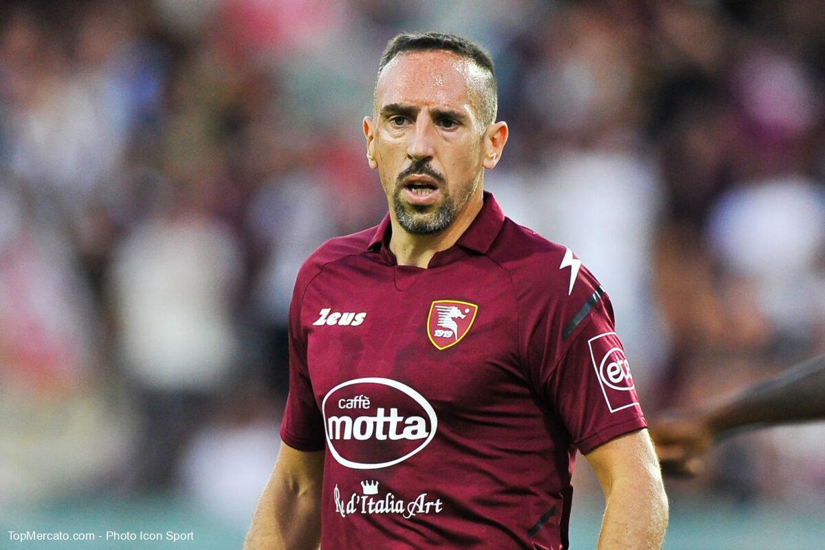 Franck Ribéry, Salernitana