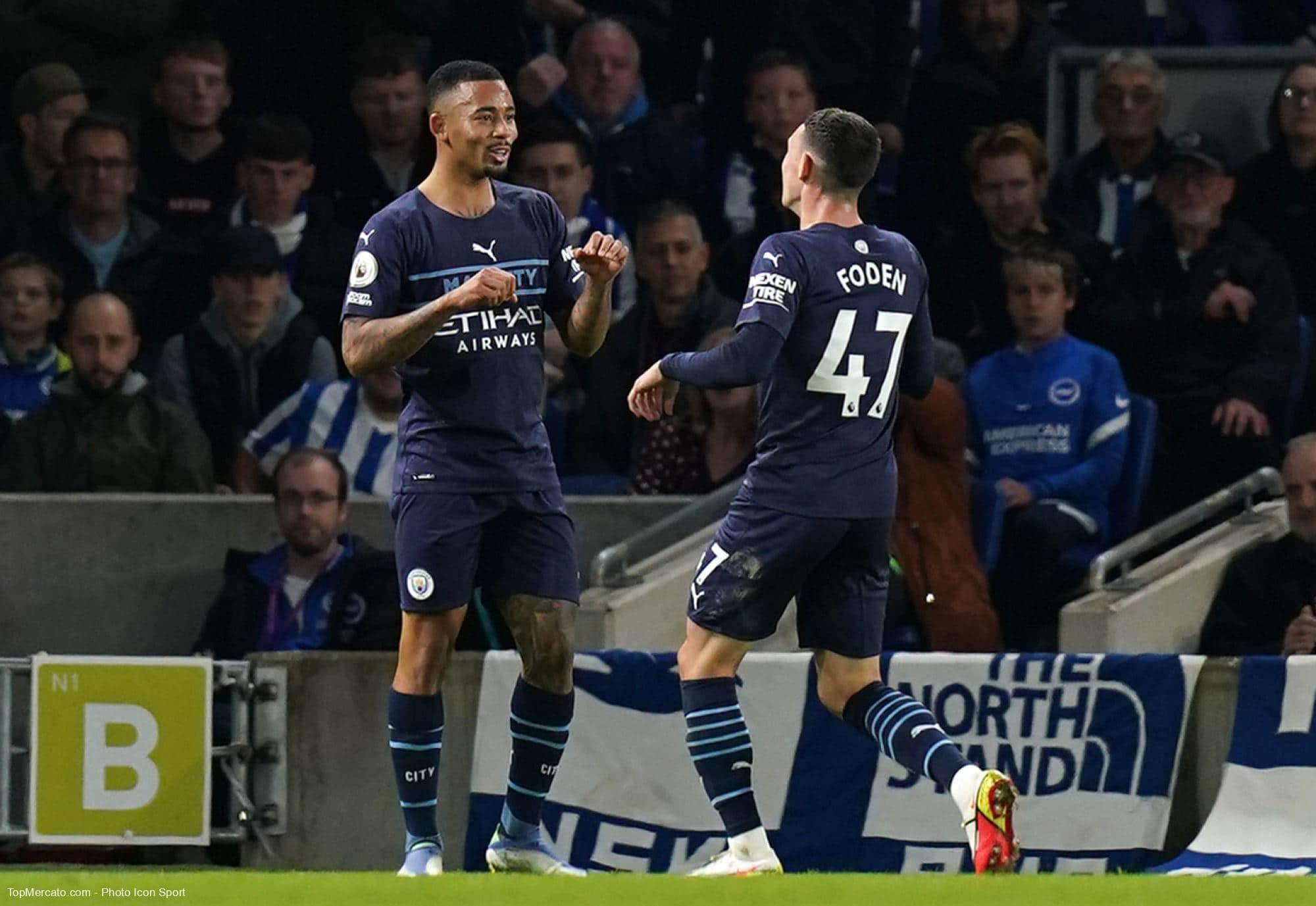 Premier League : Manchester City se balade contre Brighton