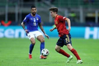 Gavi, match Italie-Espagne