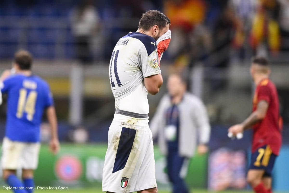 Gianluigi Donnarumma, match Italie - Espagne
