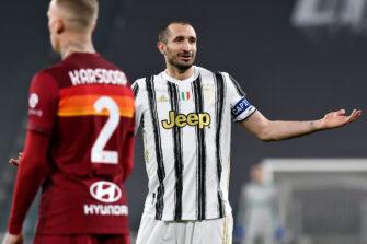 Giorgio Chiellini, match Juventus Turin - AS Roma