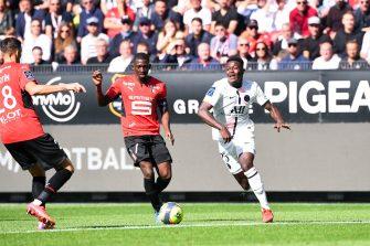 Hamari Traoré Nuno Mendes, Rennes PSG