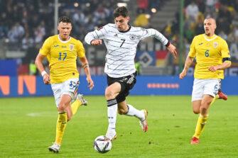 Kai Havertz, match Allemagne - Roumanie