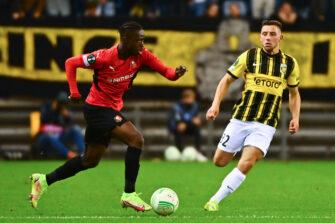 Kamaldeen Sulemana, match Vitesse Arnhem - Stade Rennais Rennes