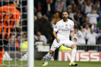 Karim Benzema, match Real Madrid - Shaktar Donetsk