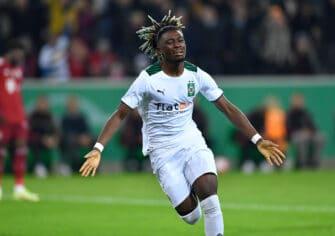Kouadio Koné, match Borussia Mönchengladbach-Bayern Munich