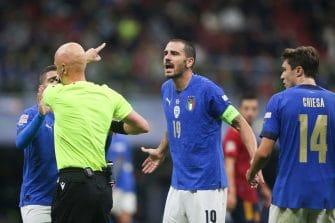 Leonardo Bonucci, match Italie-Espagne