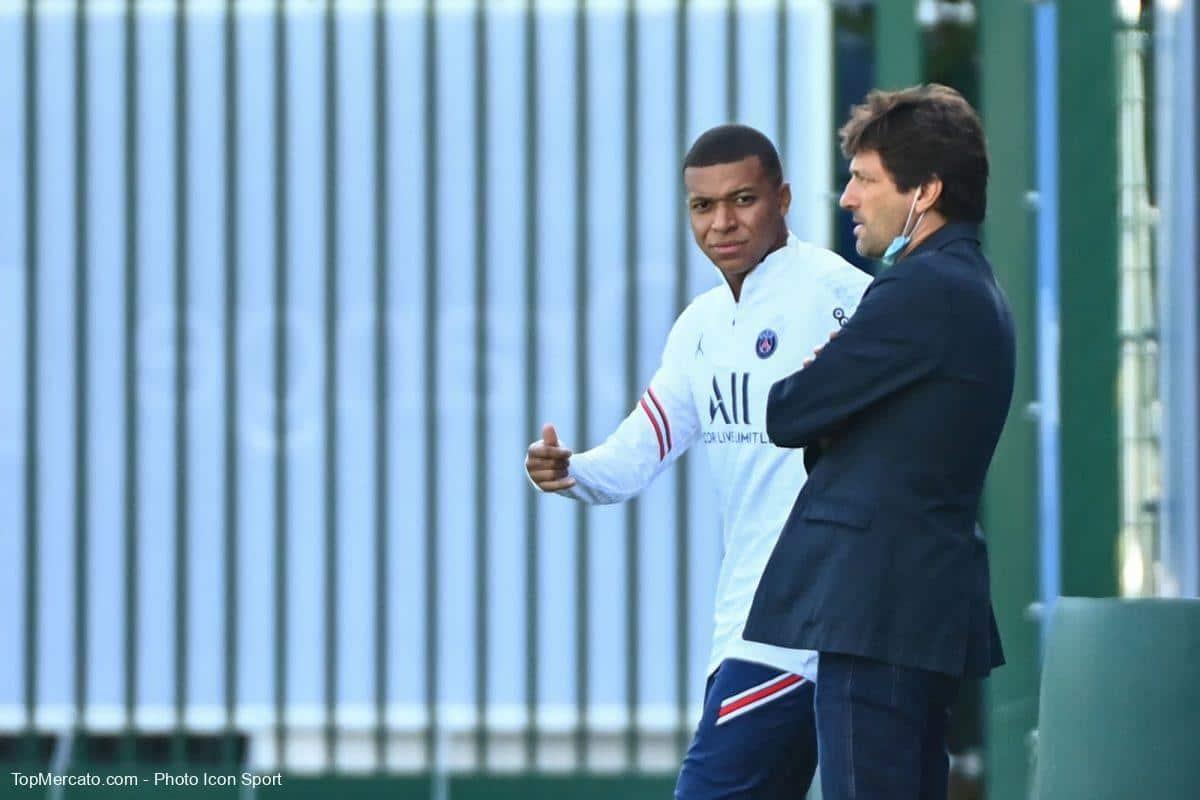 Leonardo et Kylian Mbappé, PSG, Paris Saint-Germain