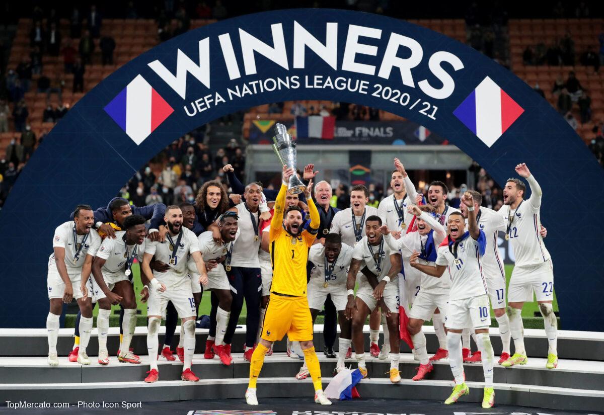 Ligue des Nations, Equipe de France