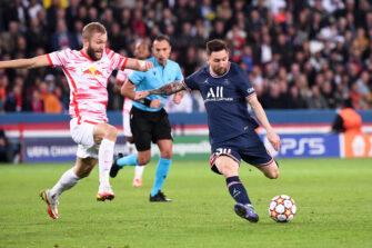 Lionel Messi, match PSG Paris Saint-Germain-Leipzig